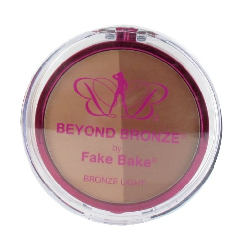 Fake Bake Beyond Bronze Duo Bronzing Powder Light 9 g, 1er Pack (1 x 9 g) - Fake Bake Gesicht