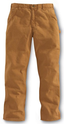 Duck Work Pant (Carhartt Washed Duck Work Pant - Arbeitshose/Freizeithose)