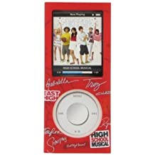 Disney HSMN4GRD - Carcasa para Apple iPod Nano 4G, diseño de High School Musical, Rojo