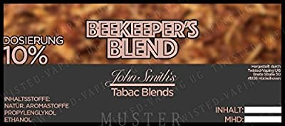 Twisted Aroma John Smith´s Blended Tobacco Flavor Beekeeper´s Blend von Twisted Vaping