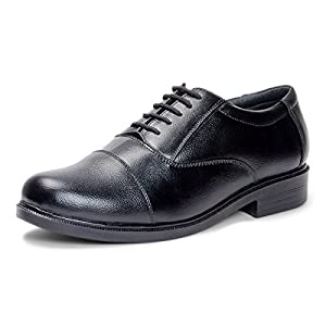 Bacca Bucci Men Black Genuine Leather Formal Shoes