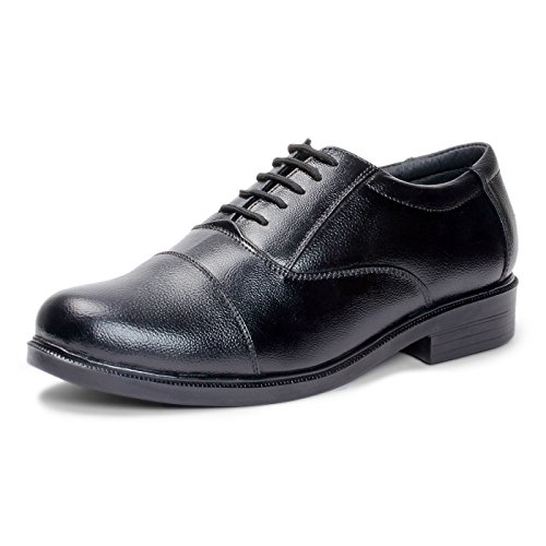 Bacca Bucci Men Black Genuine Leather Formal Shoes