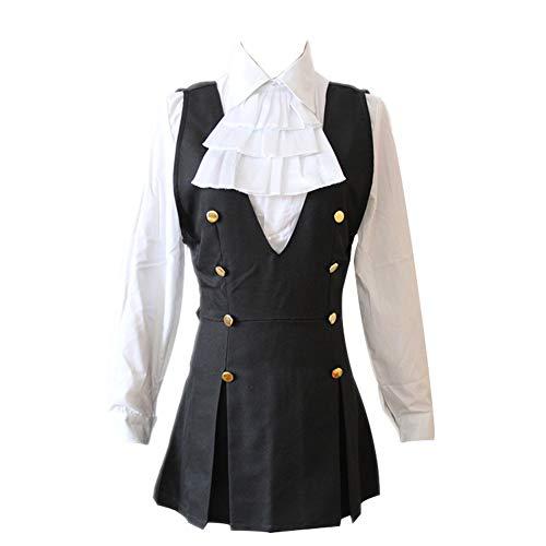 Ss X Kostüm Cosplay Boku Inu - Mtxc Damen Inu x Boku SS Cosplay Kostüm Ririchiyo Shirakiin Schuluniform - Schwarz - Schlank - L