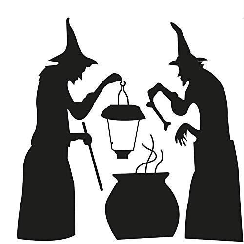 Halloween-Serie Dress Up Wandaufkleber Ghost Wohnzimmer Schlafzimmer Hintergrund Dekorative Aufkleber Gravur Kann Entfernt Werden