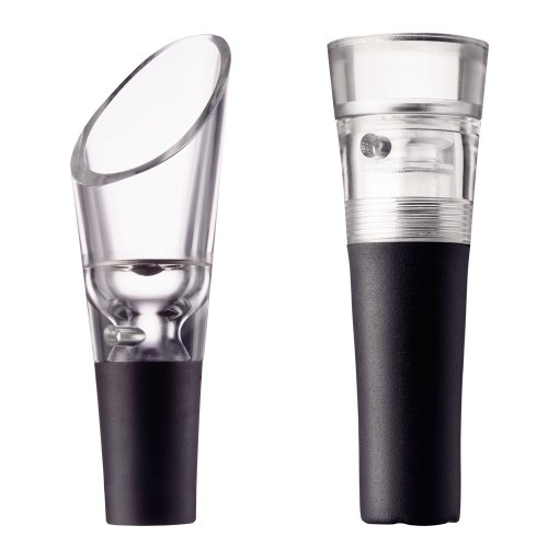Wineset Selection w. Decanting Pourer & Vacuum Stopper, 2 parts