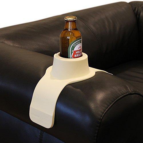 CouchCoaster, der ultimative Getränkehalter in Einheitsgröße, Cremefarben