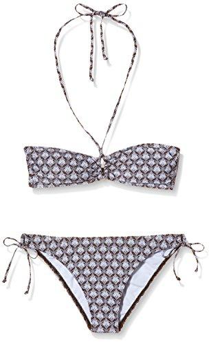 O' Neill–Bikini da donna PW Mermaid Bandeau Nero - Black AOP