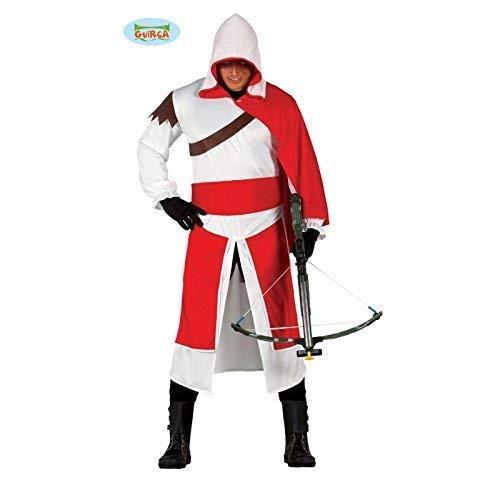 Assassinen Kostüm Tempeloffizier für Erwachsene Gr. M - L, Größe:L