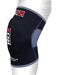 RDX Neopreno Rodilla De La Guardia Soporte Elástico Acolchado Protector Entrenamiento Fitness (Se Vende Como un Solo Elemento)