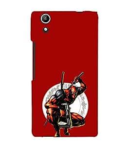 EPICCASE Deadpool Mobile Back Case Cover For Micromax Selfie 2 Q340 (Designer Case)