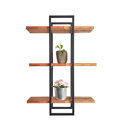 Kitchen furniture - Support en bois massif suspendu à un cadre en stratifié de partition de salon à trois cadres WXP