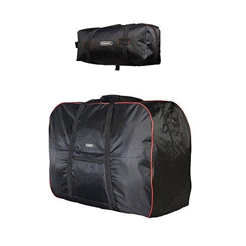 Docooler bolsa de transporte 14 '-20 'plegable portabicicletas funda de rueda bicicleta Carretera Bolsa + Pouch transporte viaje