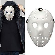 Ferrell Máscara de Cara Completa Hockey Horror Props para Halloween Fiesta Cosplay Navidad Pascua