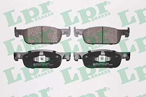 LPR Brakes 05P1963 Set Pastiglie Freno