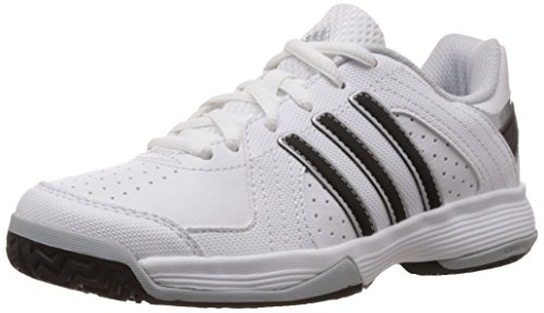 adidas Boy's Response Approach K Ftwr White, Core Black and Clear Grey Leather Sports Shoes  - 11 kids UK/India (29 EU)