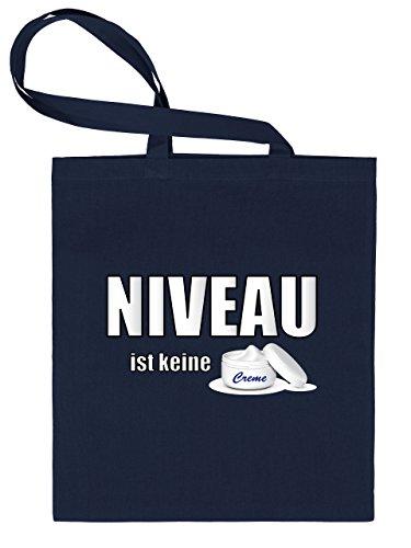 NIVEAU ist keine Creme 4496 Stoffbeutel (Navy)