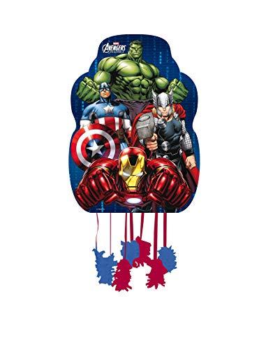 ALMACENESADAN 0850, Piñata Profil Avengers, bunt, für Partys und Geburtstage, Maße: 33x46 cm