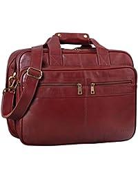 STILORD  Alexander  Borsa da lavoro in pelle uomo donna Grande borsa porta  documenti e PC Ventiquattrore da ufficio. fe10ba0f377