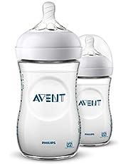 Philips Avent Natural 2.0 Bottle 260ml Pack of 2 SCF033/20