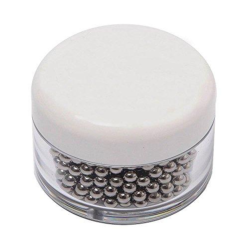 Perlas limpiadoras ,500 Perlas de limpieza de acero inoxidable,para decantador, jarrón, jarras,...