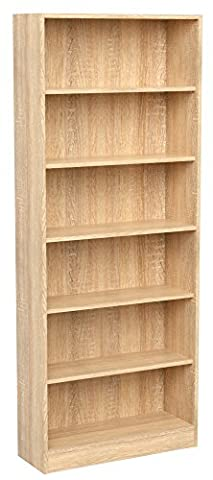 INFINIKIT Haven High Bookshelf - Golden Oak