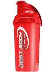 Best Body Nutrition Eiweiß Shaker 700ml, rot