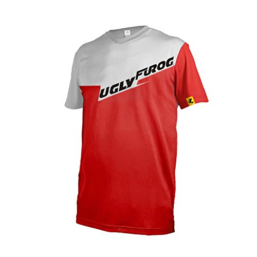 Uglyfrog #02 Bike Wear Mens Rage MTB/Downhill Jersey Cycling/Motocross Mountain Bike Shirt