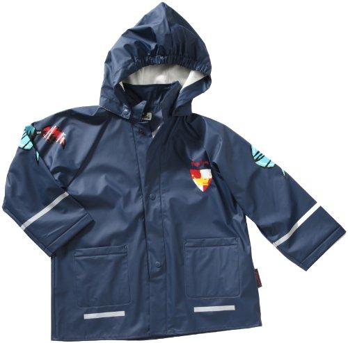 Playshoes Baby - Jungen Regenbekleidung 408564 Regenmantel /Regenjacke Ritter von Playshoes, Gr. 80, Blau (900 original)