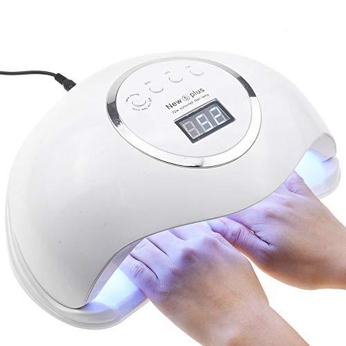 Czcrw Secador Clavos 72W Lámpara UV Lámpara LED