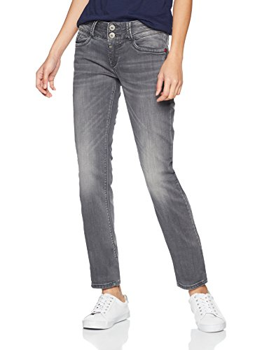 Timezone Damen Jeans Slim Enya Jogg, Grau (Steel Grey Wash 9198), W31/L32 Blue Steel Wash