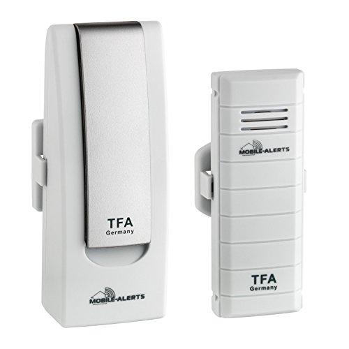 TFA Dostmann Weatherhub Starter-Set mit Temperatursender, 31.4001.02, SmartHome, einfach installierbar