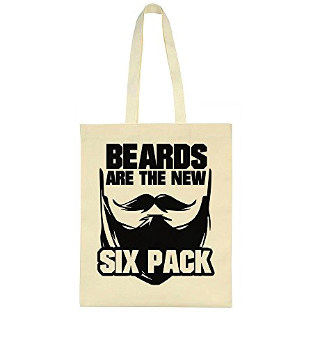 Lumber Pack (idcommerce Beards Are The New Six Pack Tote Bag)