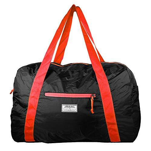 Mangrove borsone leggero e richiudibile adatto per fare sport andare in palestra in vacanza o in viaggio (rosso)