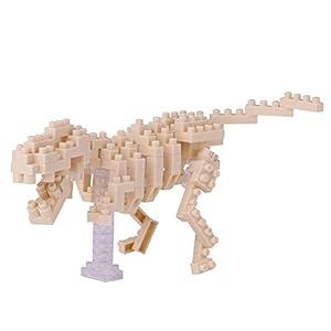 Nanoblock NAN-NBC185 T-Rex Skeleton - Mini Puzzle 3D