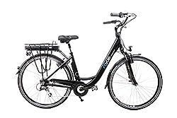 "MIFA 28"" Zoll Alu Damen Elektro Fahrrad E Bike Pedelec Shimano 8 Gang 36V 13Ah Schwarz C Ware"