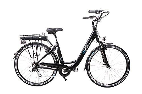 "28"" Zoll Alu Damen Elektro Fahrrad E Bike Pedelec Shimano 8 Gang 36V 13Ah schwarz B Ware"
