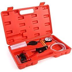 Femor Vakuumpumpe Bremsenentlüfter Vakuumtester Bremsenentlüftung Bremse tragbar Handheld Vakuum Tester