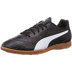 PUMA Monarch IT, Zapatos de Futsal para Hombre, Black White, 39 EU
