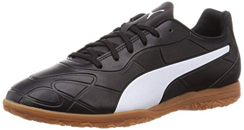 PUMA Hombre Monarch IT Zapatos de Futsal, Black White, 40 EU