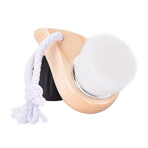 welecom Weiche Borsten Gesichtspflege Pinsel, manuelle Peeling Porenreiniger Bürste