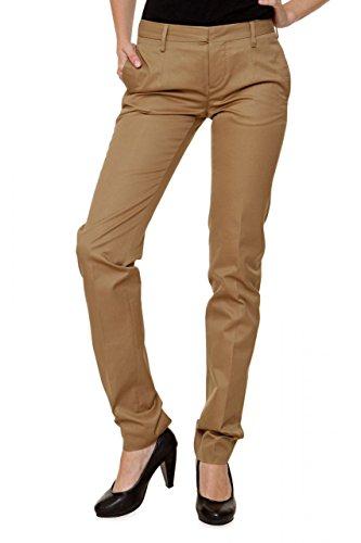 Dsquared² Damen Hose , Farbe: Braun Braun