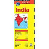 India Travel Map (Periplus Travel Maps)