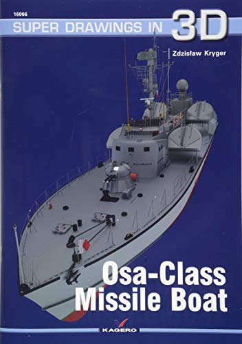 Osa-Class Missile Boat (Super Drawings in 3D) por Zdzislaw Krygier