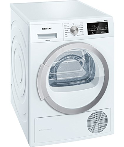 Siemens WT47W460FF Free-Standing Tumble Dryer - Load 8kg A++ White (Front Load, Heat Pump, A++, White, B)