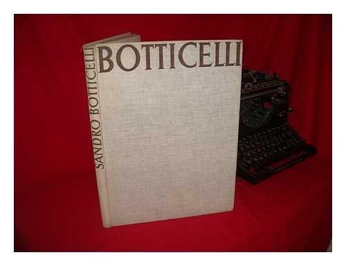 Botticelli, par Lionello Venturi