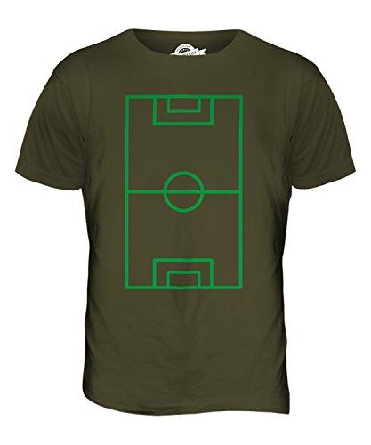 CandyMix Fußballplatz Herren T Shirt Khaki Grün