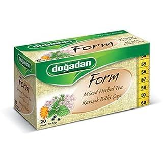 Dogadan Form Kräutermischung 20 Aufgußbeutel