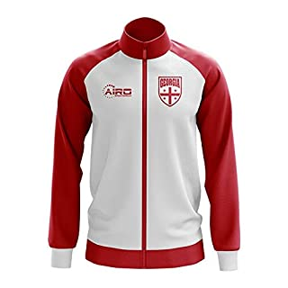 Airo Sportswear Georgia Concept Football Track Jacket (White)