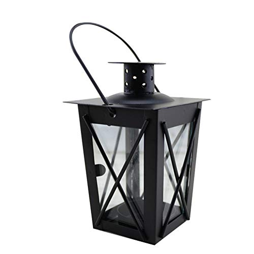 Kerzenhalter Laterne mit Haken dekorative Teelicht Kerzenhalter Laternen marokkanischen Stil hängen Eisen Teelicht Kerzenhalter Laternen (Dekorative Kerzenhalter Laterne)