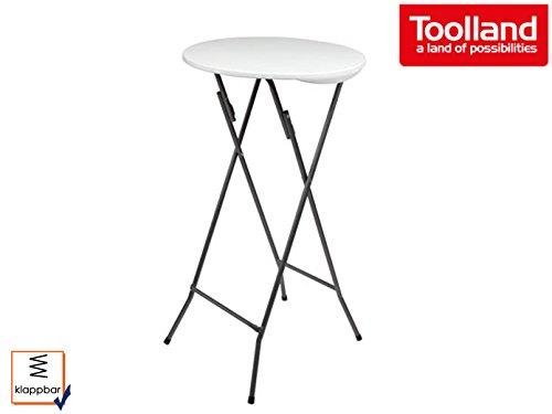 Velleman Table pliable, Blanc, 132 x 62 x 5.5 cm, FP196